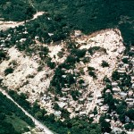 The Mameyes Landslide, in Puerto Rico, buried more than 100 homes in 1985.  Source: USGS