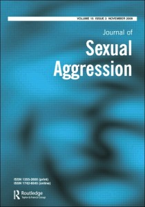 Journal Of Sexual Aggression
