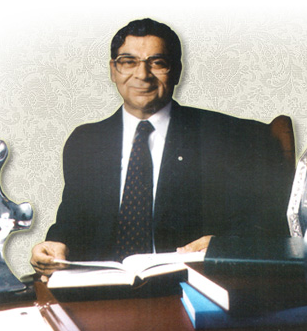 R K Chandra, self-proclaimed father of nutritional immunology (from www.drrkchandra.com)